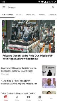 NDTV News poster
