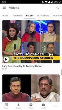 NDTV News screenshot 2