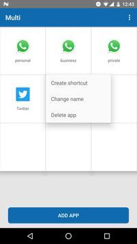 Multi-multiple accounts app screenshot 4
