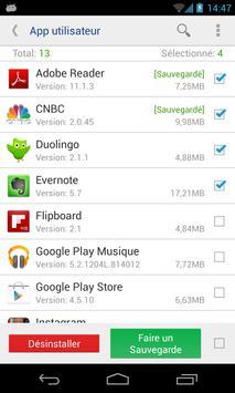Désinstalleur App Sytème(root needed) capture d'écran 4