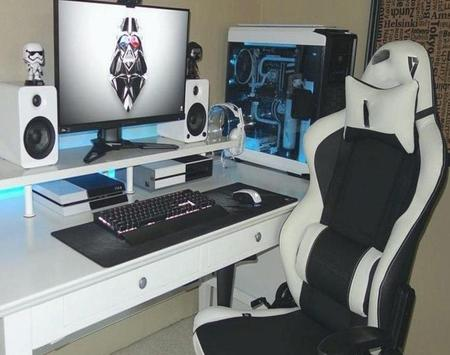 DIY PC Desk Build poster