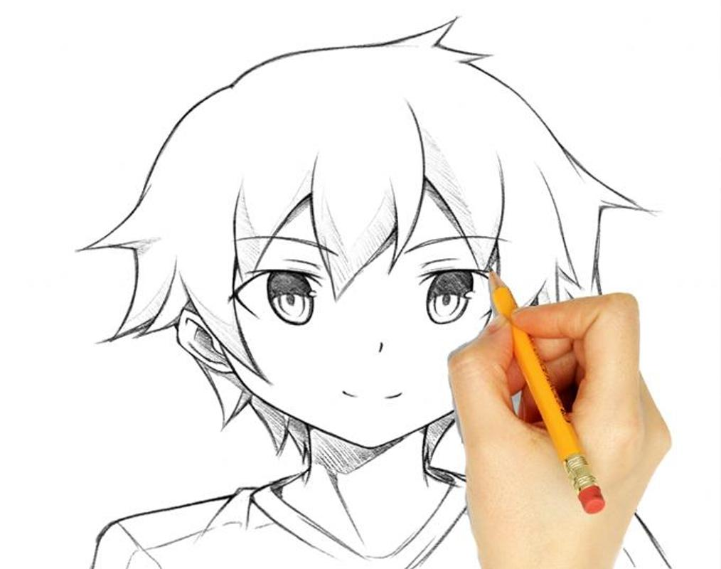 Drawing Anime Boy Step By Step For Android Apk Download