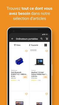 JUMIA Shopping en ligne capture d'écran 1