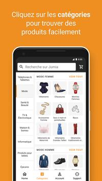 JUMIA Shopping en ligne capture d'écran 2