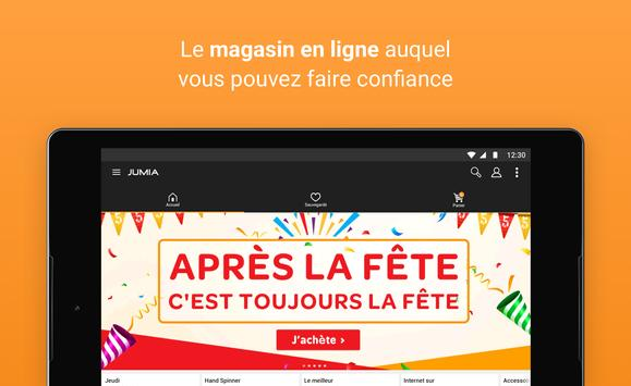JUMIA Shopping en ligne capture d'écran 6