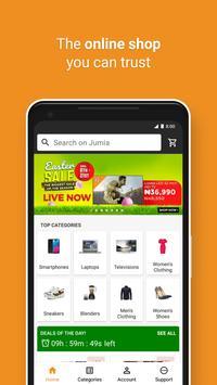 JUMIA Online Shopping ポスター