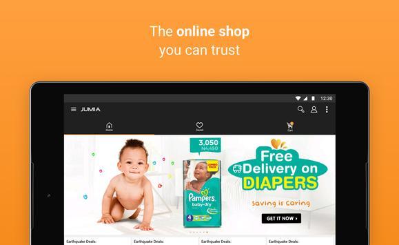 جوميا للتسوق عبر الانترنت تصوير الشاشة 10