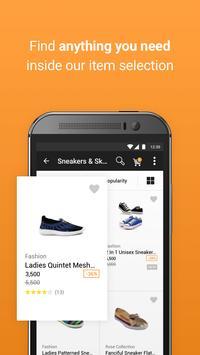 جوميا للتسوق عبر الانترنت تصوير الشاشة 1