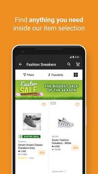 JUMIA Online Shopping स्क्रीनशॉट 1
