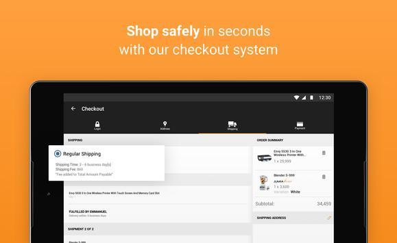 جوميا للتسوق عبر الانترنت تصوير الشاشة 9