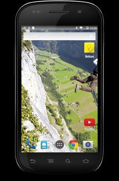 Base Jumping Wallpaper screenshot 3