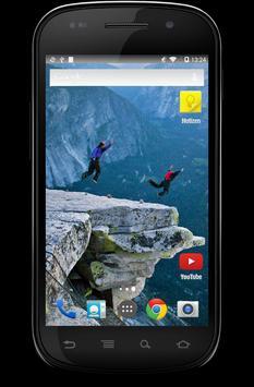 Base Jumping Wallpaper screenshot 2