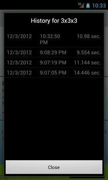 SpeedCube Timer Free screenshot 3