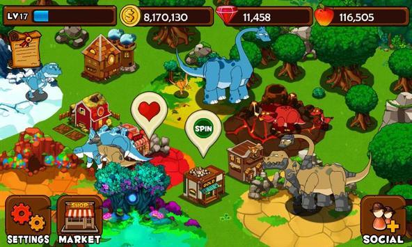 Dino Island poster