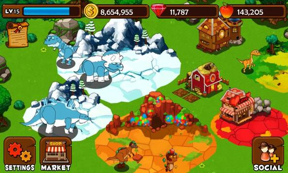 Dino Island screenshot 2