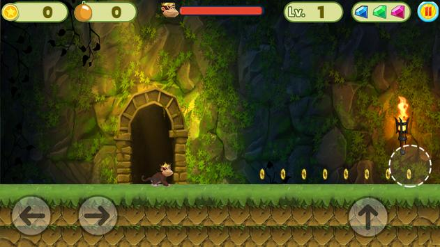 MONKEY JUNGLE RUNNER screenshot 5