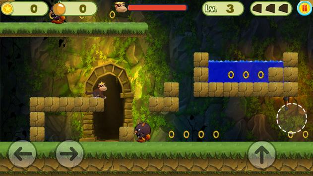 MONKEY JUNGLE RUNNER screenshot 1