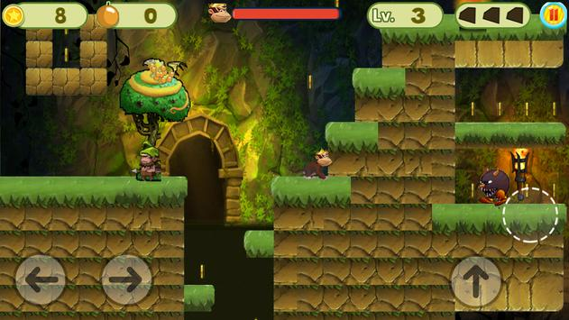 MONKEY JUNGLE RUNNER screenshot 2