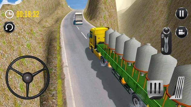 Uphill Cargo Driver 3D poster