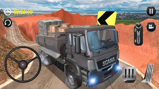 Uphill Cargo Driver 3D screenshot 4