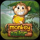 Monkey sailor friends icon