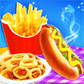 Fast Food Stand - Fried Food Cooking Game