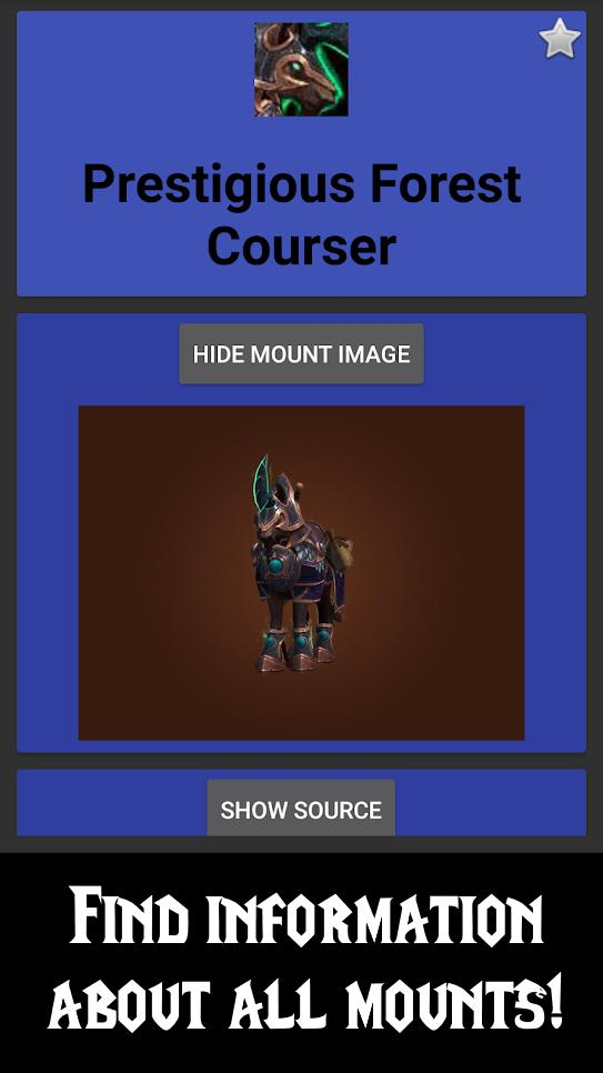 WoW Mount Tracker for Android - APK Download