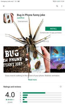 Spider in phone funny joke screenshot 4