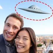 UFO in Photo Prank icon