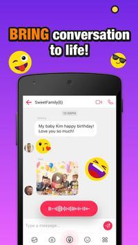 JusTalk Kids - Safe Video Chat and Messenger screenshot 3