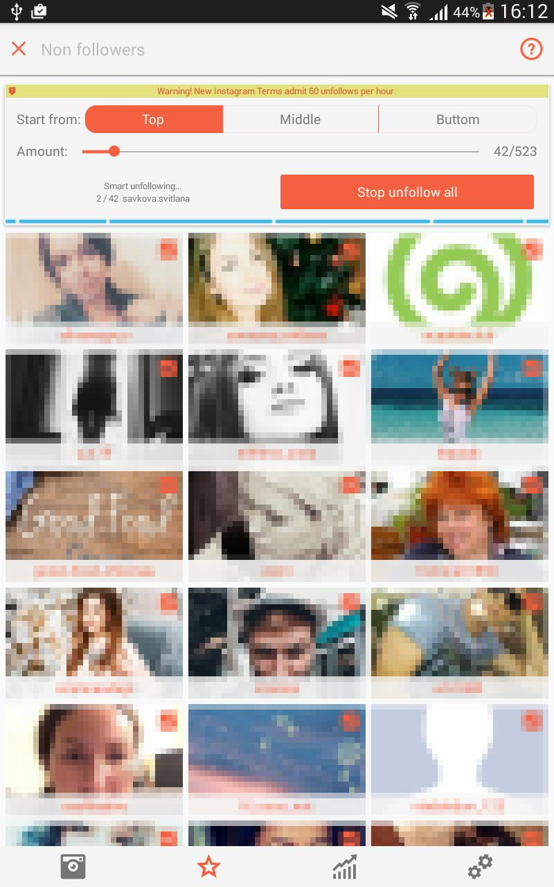 Unfollow Pro for Instagram for Android - APK Download