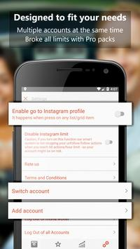 Unfollow Pro for Instagram capture d'écran 4
