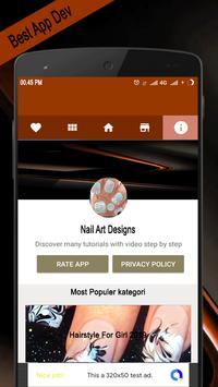 Nail Art Designs poster