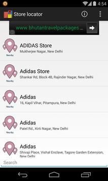 Store Locator screenshot 2