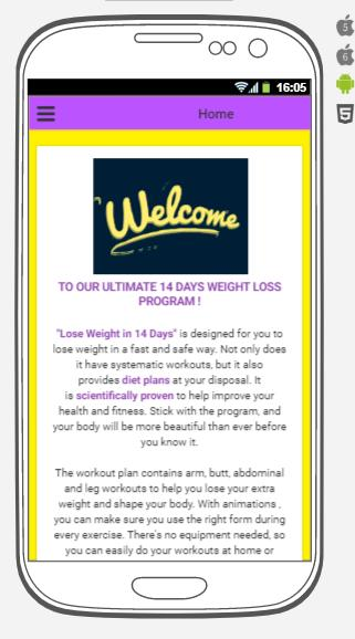 Lose Weight in 14 Days for Android - APK Download