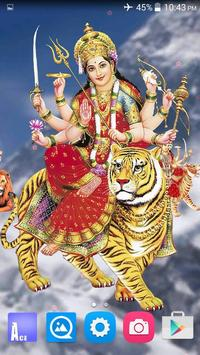 4D Maa Durga Live Wallpaper 截图 3