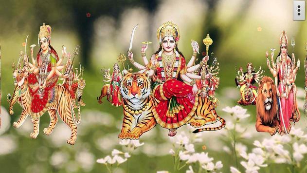 4D Maa Durga Live Wallpaper Ekran Görüntüsü 10