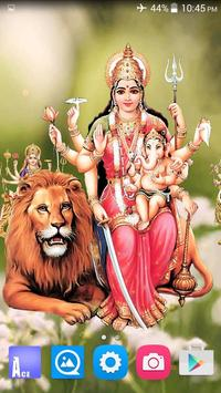 4D Maa Durga Live Wallpaper Ekran Görüntüsü 14