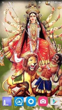 4D Maa Durga Live Wallpaper Ekran Görüntüsü 15