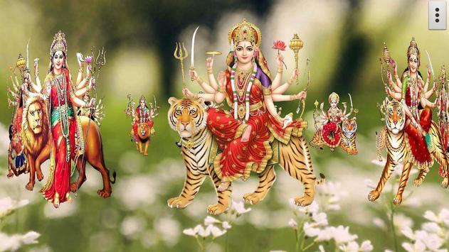 4D Maa Durga Live Wallpaper Ekran Görüntüsü 16