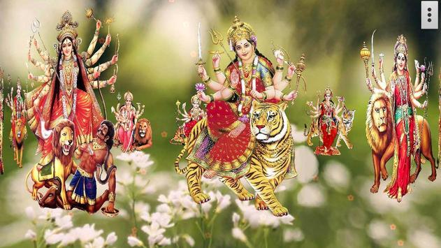 4D Maa Durga Live Wallpaper Ekran Görüntüsü 17