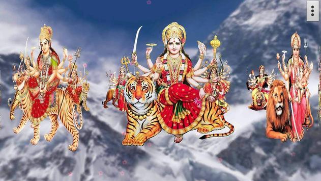 4D Maa Durga Live Wallpaper Ekran Görüntüsü 18