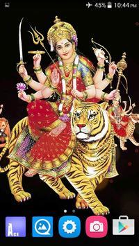 4D Maa Durga Live Wallpaper Ekran Görüntüsü 5