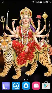 4D Maa Durga Live Wallpaper Ekran Görüntüsü 6