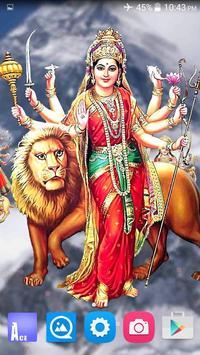 4D Maa Durga Live Wallpaper Ekran Görüntüsü 8