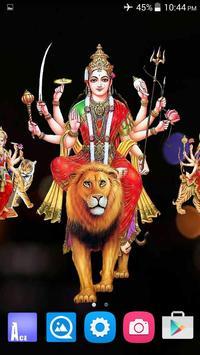 4D Maa Durga Live Wallpaper Ekran Görüntüsü 9