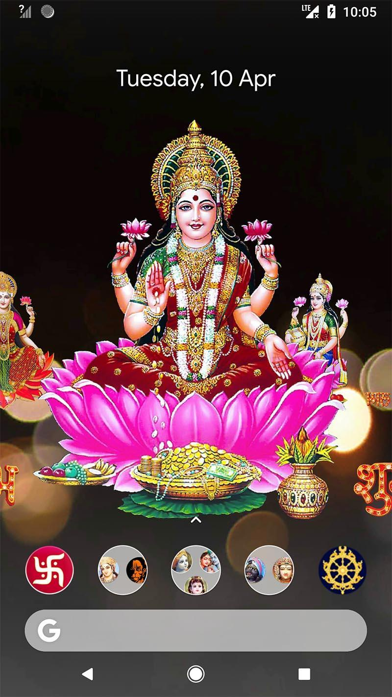 4D Lakshmi Live Wallpaper for Android - APK Download