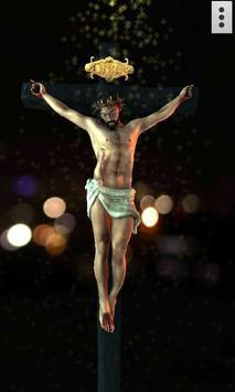 3D Jesus poster