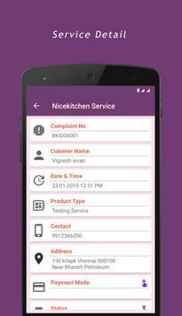 Nicekitchen Service screenshot 2
