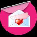 Messages d'amour romantique et Lettres d'amour